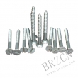 slotted wood screw